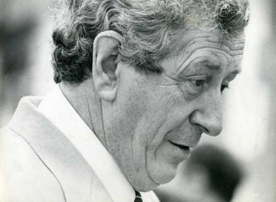Dr Garret FitzGerald, 1926-2011.