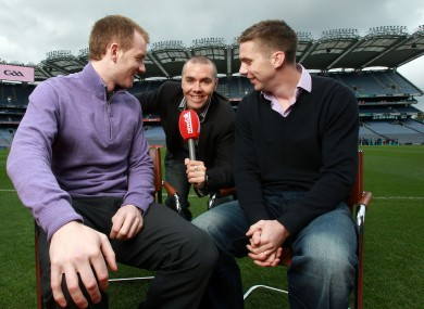Tipperary's Lar Corbett, Newstalk commentator Dave McIntyre and Kerry's Marc Ó'Sé in the hot seat..