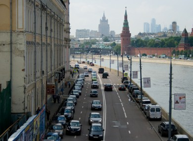 Nikolai Shadrin was arrested at his apartment in Moscow