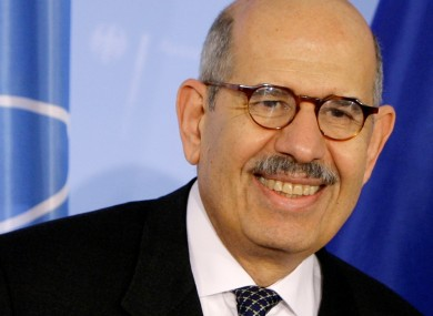 Mohamed El Baradei will be pleased with his popularity on the Facebook