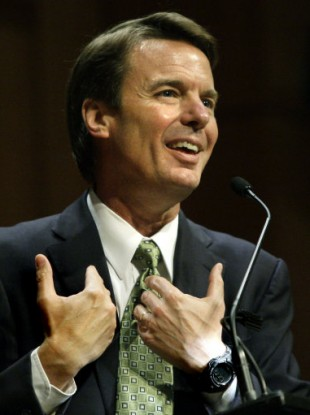 10 March 2009 photo of former presidential candidate John Edwards.