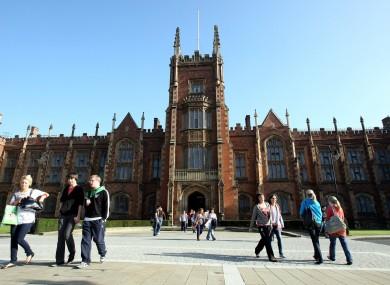Queen's University in Belfast.