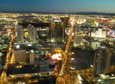 Las Vegas. What the development probably wouldn't look like. (File photo)