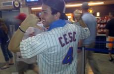 Lads on tour: Van Persie and Cesc get snap happy in New York City