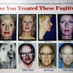 A poster featuring the fugitives James