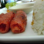 Longganisa, a Filipino sausage (Element of Filipino food - second favourite in the Philippines)<span class=