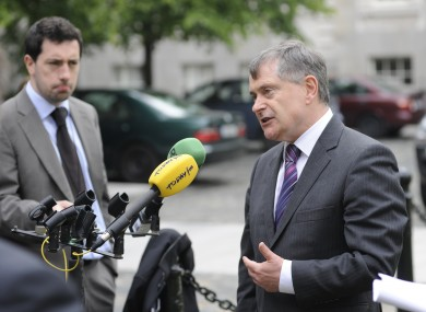 Minister for Public Expenditure Brendan Howlin at the Croke Park deal progress review last month