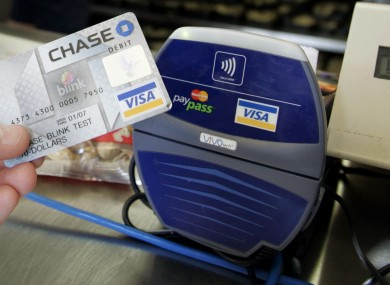 A contactless payment in action in the US (File photo)