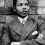 Mandela was born in 1918. Pictured in 1937, he was well educated and took up an early career as a lawyer.