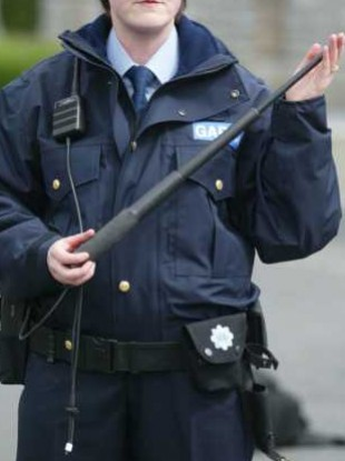 The extendable baton used by gardai - but is it protection enough?