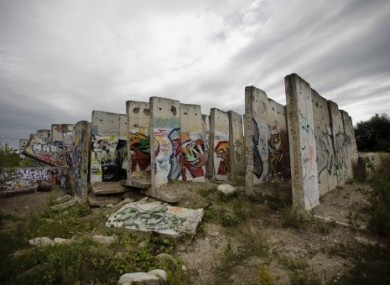 Parts of the wall are still standing in Germany, serving as a reminder of the past.
