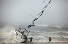Water levels rise as New York braces for Irene's impact
