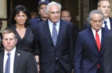 Strauss-Kahn applauded on return to IMF