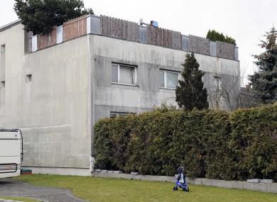The house where Elisabeth Fritzl was imprisoned