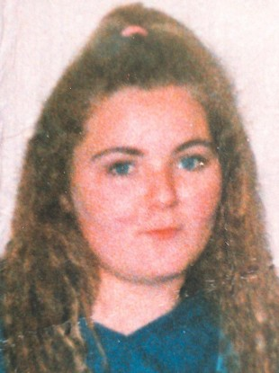An undated picture of Arlene Arkinson taken before her disappearance