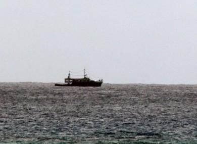 File photo of the sea off Moroni