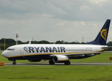 File photo of a Ryanair jet