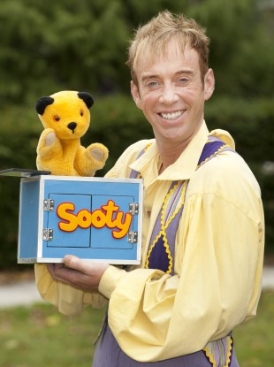 Sooty and puppeteer Richard Cadell: a viciously-paced pizza sent magician Paul Daniels to A&E.