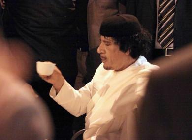 Muammar Gaddafi's whereabouts still aren't known - leading Tripoli businessmen to offer a reward for his arrest or murder.