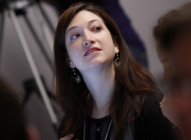 Randi Zuckerberg speaks at World Economic Forum in Davos last year