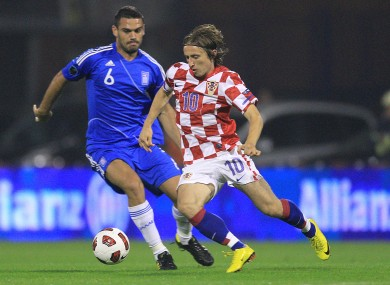 Luke Modric is undoubtedly the most famous player in the current Croatian squad.