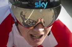 La Vuelta: Froome and Wiggins fly Sky high