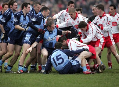 The infamous 'Battle of Omagh' in 2006.
