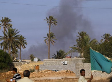 The town of Zlitan has been the scene of heavy fighting over the past months and today rebels claimed they had won a victory over Gaddafi's forces there.