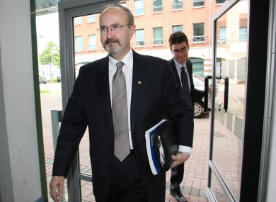 The office of Northern Ireland's Police Ombudsman Al Hutchinson (pictured) has become less independent as a result of outside lobbying, according to a new report.