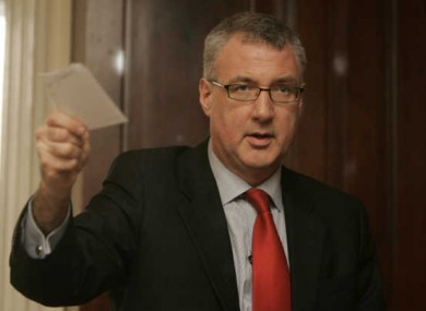 John Crown will today introduce a bill which requires TDs and Senators to inform the Minister for Justice if they try to