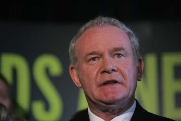 Mcguinness Blames West Brit Influence For References To Ira Past