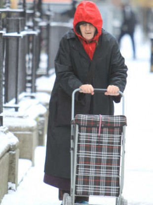 Older people in Ireland have had to deal with transport and heating problems during the Big Freezes over the past two winters.