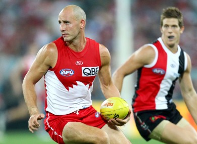 Kennelly has enjoyed a successful AFL career.