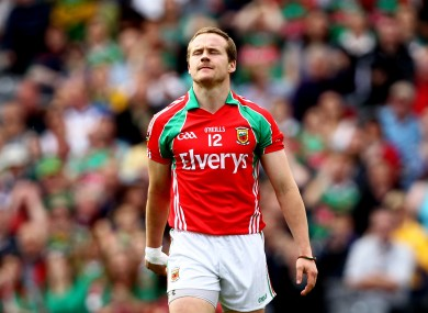 Moran has been in good form for Mayo this year.