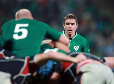 Leinster's Eoin Reddan will partner Jonathan Sexton in midfield for Ireland's clash with the Wallabies, as Conor Murray is demoted to the bench.