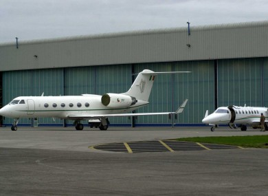 Meadhbh was brought to London in the government Lear jet