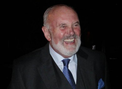 David Norris leaving the Late Late Show two Fridays ago