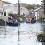 Cars still stuck in the floods in Harold's Cross area, Dublin. Image: Sasko Lazarov/Photocall Ireland