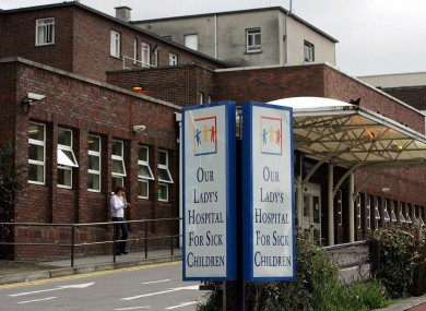 Our Lady's Hospital for Sick Children in Crumlin (File photo)