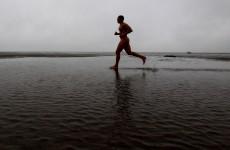 Naked ambition: Nude marathon runner tasered, banned for life