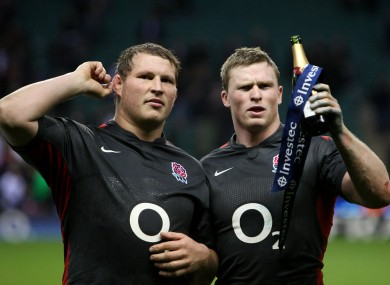 Dylan Hartley and Chris Ashton are among the England players who have come under fire for their behaviour.