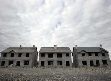 File photo of a ghost estate in Keshcarrigan, Co Leitrim.