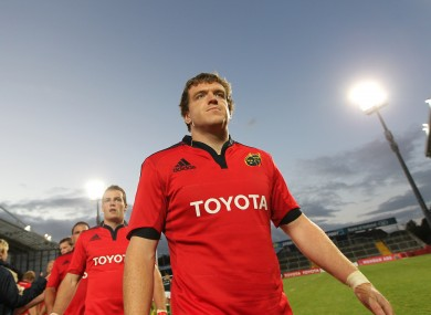 Sherry has featured in Munster's pre-season games.