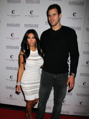 Kardashian and Humphries just eight daysa go in Las Vegas.