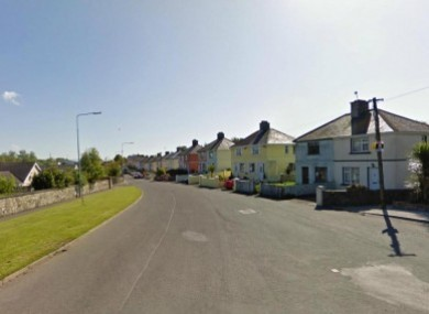 File photo of Termon Road, where the fire started.