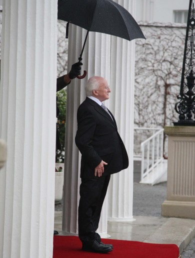 In pictures: Presenting… President Michael D Higgins