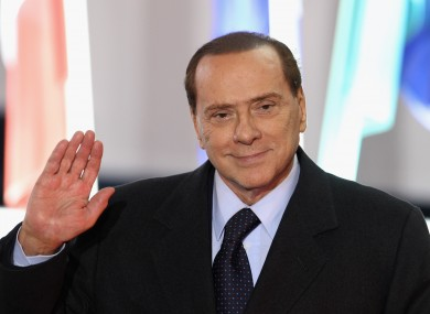 Silvio Berlusconi, who has denied rumours that he is resigning, at the G20 summit in Cannes last Thursday