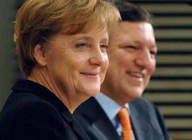Angela Merkel has resisted Jose Manuel Barroso's proposals for eurobonds - but is reportedly in talks with other strong economies on 'elite' communal bonds.