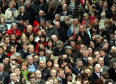 Northern Ireland's population is at an all time high - as its death rate reaches its lowest level ever.