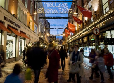 Retailers will hope that the Christmas sales season brings more footfall - as the value of retail sales remains at its lowest since the recession bit.